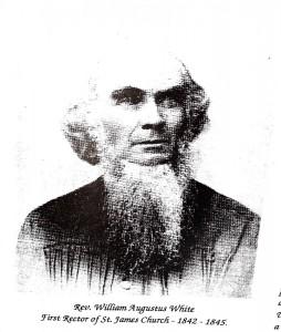 Rev. William Agustus White