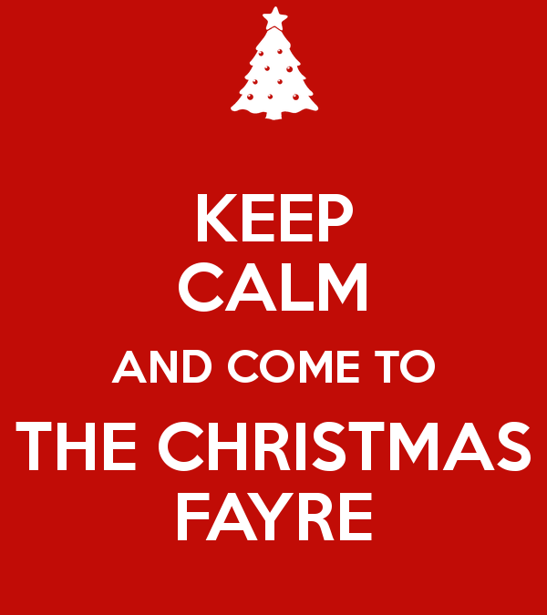 Christmas Fayre Saturday 25th November 11am