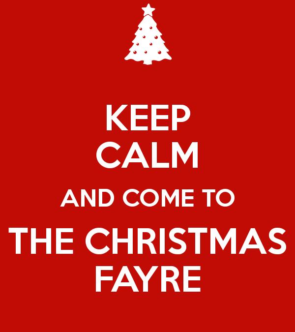 Christmas Fayre Saturday 25th November 11am