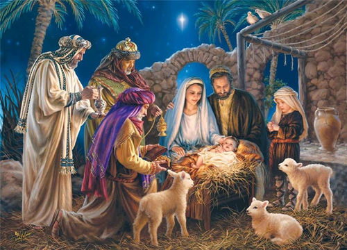 Interactive Nativity Play Service St James' 10:45am Sunday 17th December