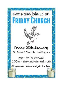 Friday Church @ St James Church Hall | Haslingden | England | United Kingdom