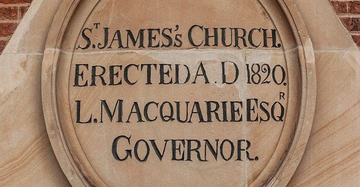 The Foundation Stone of St James'