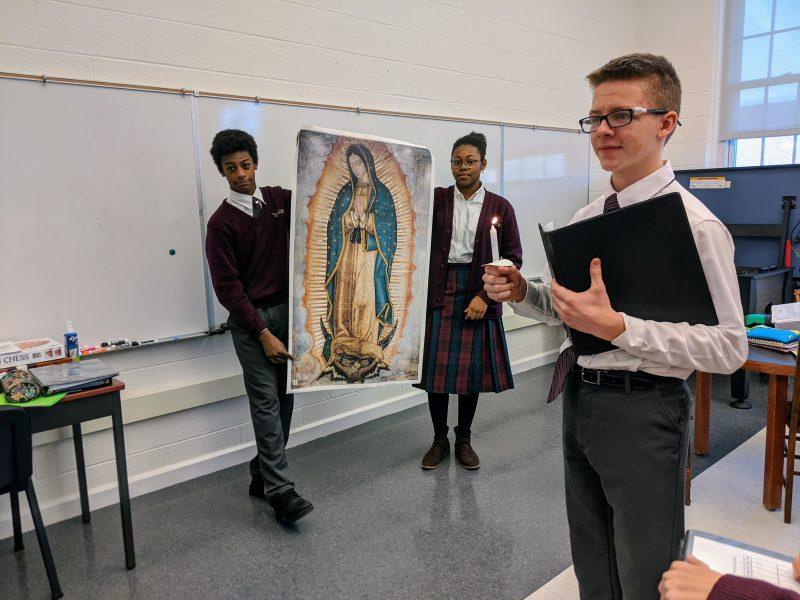 catholic faith based liberal arts high school