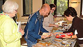 Get involved bake sale