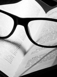 Book and Glasses - St. John's Episcopal Church