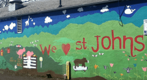 We love St Johns mural