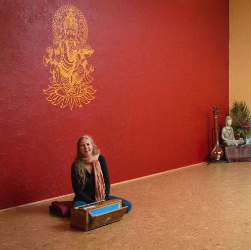 Shanti Om Yoga studio