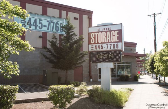 St Johns Storage main entrance and sign