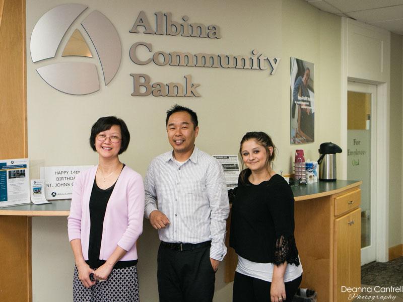 Albina Community Bank staff