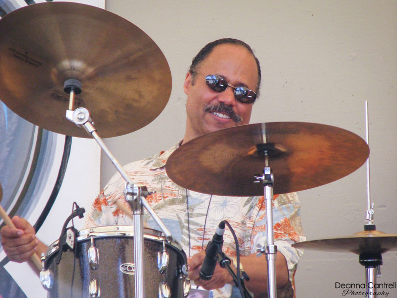 Ron Steen on drums