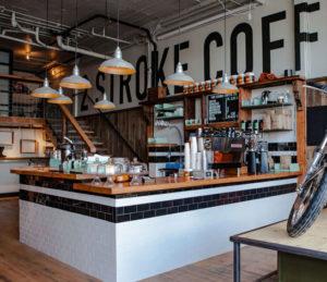 Two Stroke Coffee interior