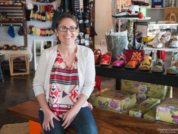 Annalisa Romano at RoM Shoes