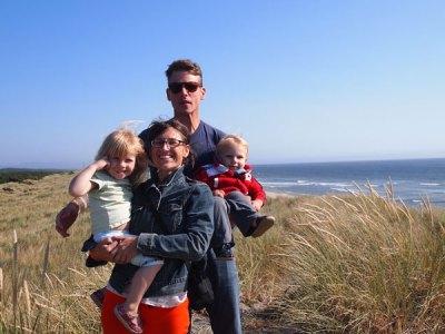 Annalisa Romano and family