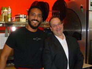 Abdul Alhoti and Frank Marzetta