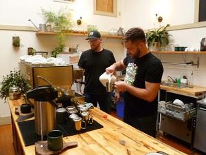 Matt and Jon in action
