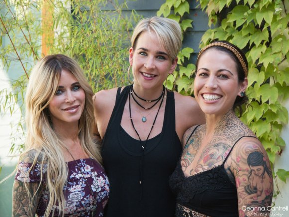 Leigh Caruana, Rachel Neves, and Hannah Brie, owners of Breathe