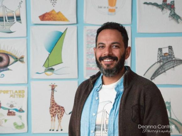 Alshiref, owner of Alshiref Design