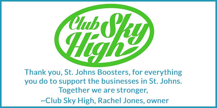 Club Sky High thank you