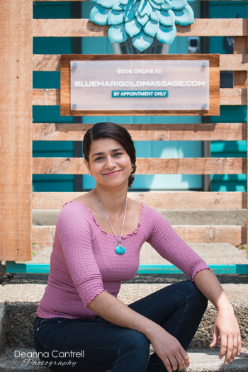 Blue Marigold Massage owner, Dali Singh