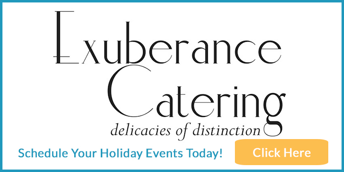 Exuberance Catering advertisement