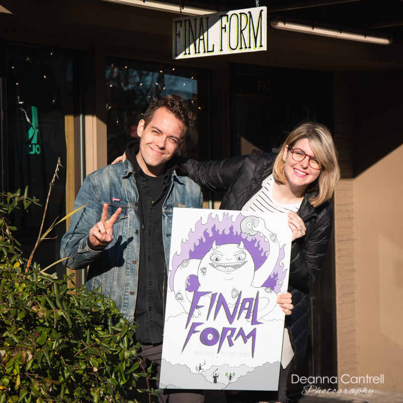 Final Form owners Patrick and Lauren O'Driscoll