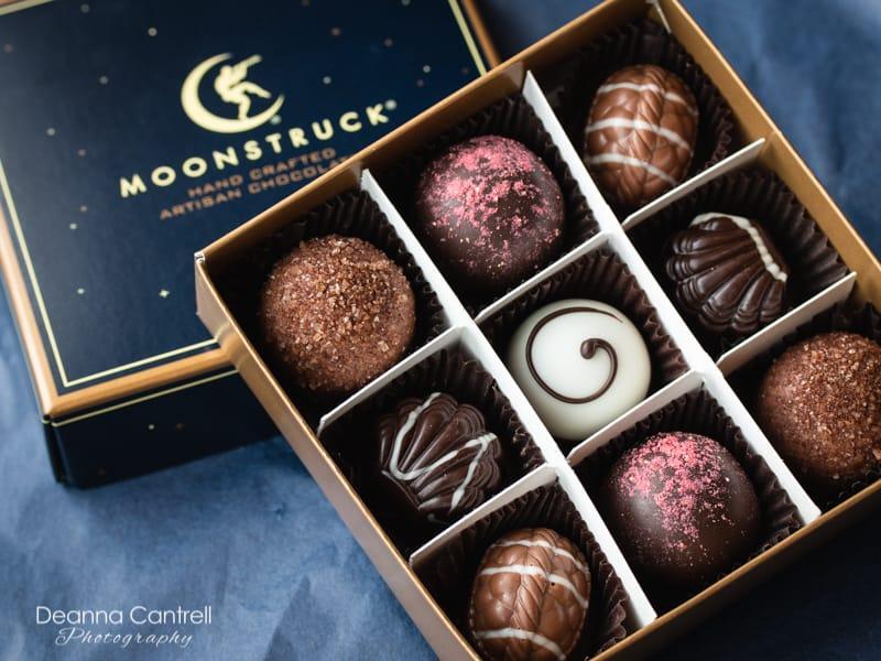 Moonstruck Chocolate box