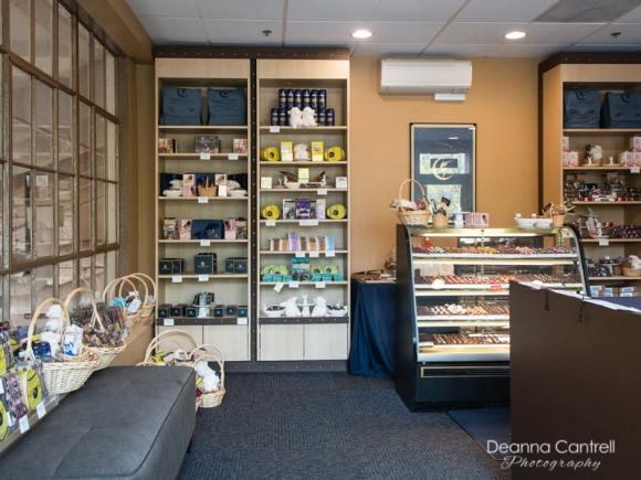 Moonstruck Chocolate Store Interior