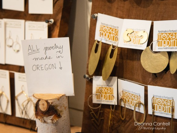 Earrings at Gather