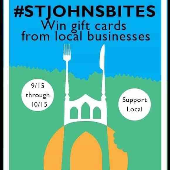 St. Johns Bites poster