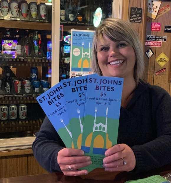 Ranger Tavern with St. Johns Bites brochures