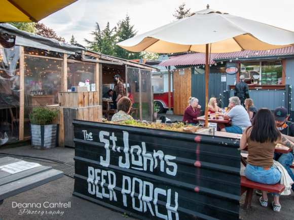 St. Johns Beer Porch