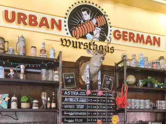 Urban-German-restaurant-brew-pub