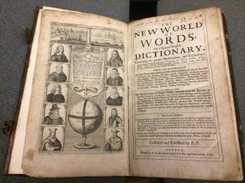 World of Words frontispiece