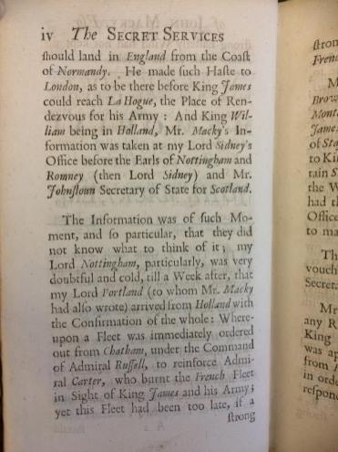The displayed page recounts Macky's attempt to spread the news of the upcoming invasion, and the initial doubt cast on his claims.