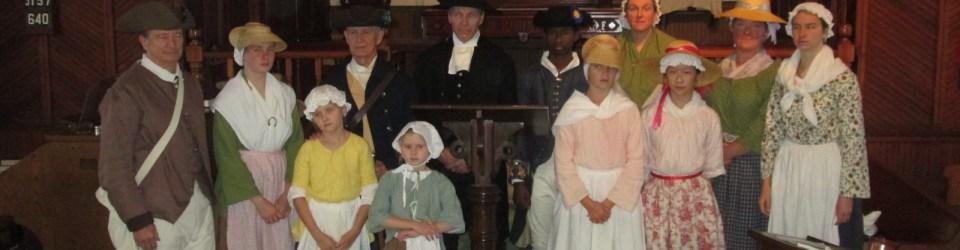 18th century reenactors St. John's