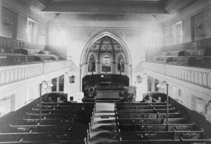 St. John's - Sanctuary Historic (B&W)