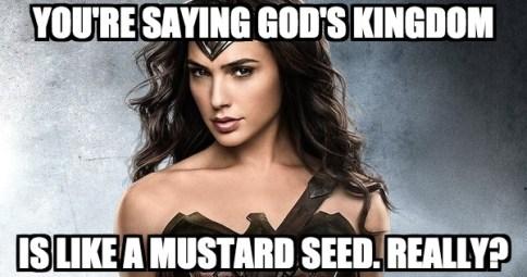 wonder woman mustard seed