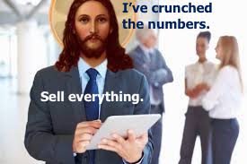 Jesus crunches the numbers