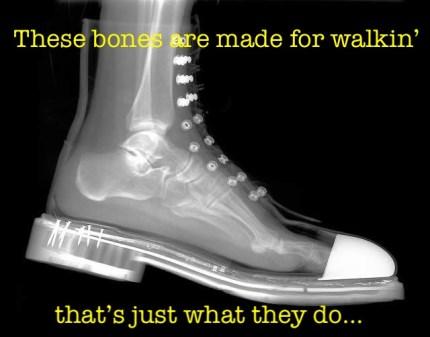 Bones Made for Walkin'