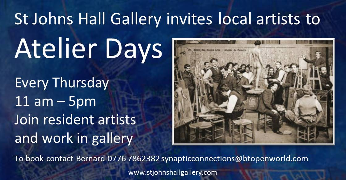 Invite to Atelier Days every Thursday