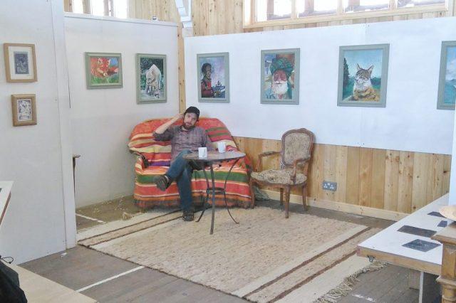 Exhibition at St John's Hall Gallery, Alyosha Barnes