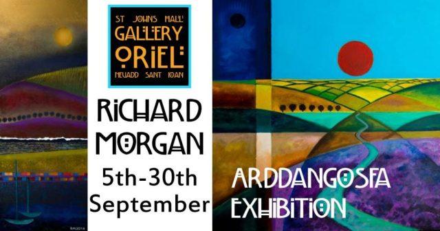 Exhibition of art by Richard Morgan at St John's Hall Gallery Barmouth 5-30 September 2017