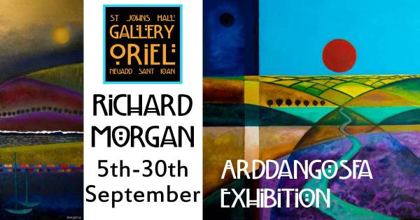 Exhibition of art by Richard Morgan at St John's Hall Gallery Barmouth 5-30 September 2017