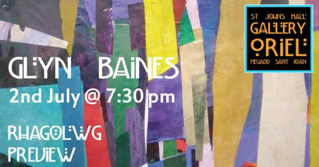 Glyn Baines Preview 2nd July 2018 @7:30pm