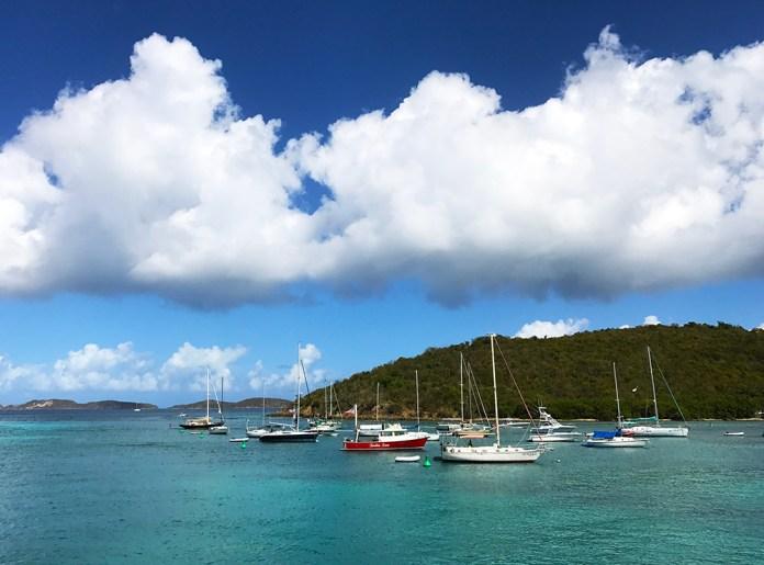Boats in Cruz Bay. (Chuck Munson photo)