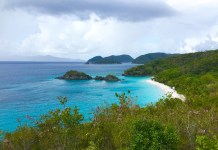 A view from the Virgin Islands National Park. (AMy Roberts photo)