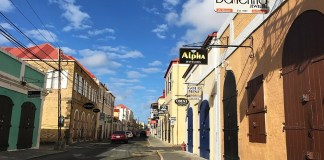 Main Street before construction began. (James Gardner photo)