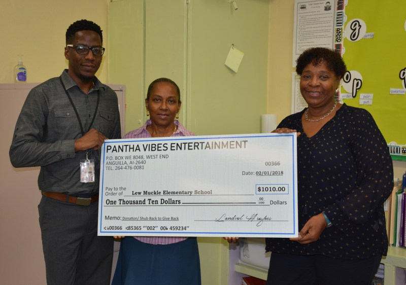 'Shub Back to Give Back' Music Event in Anguilla Raises Funds for Schools in Anguilla and USVI