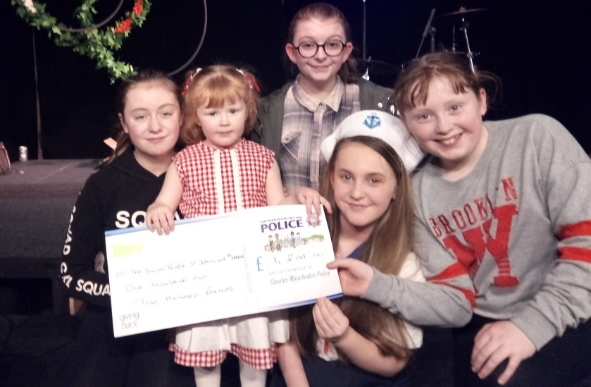 Pantomime and Giving back