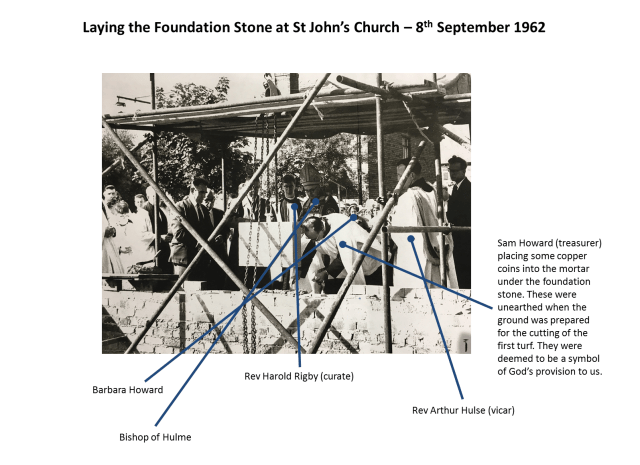 history - laying the foundation stone